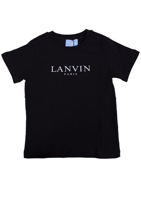 T-shirt bambino con logo stampato LANVIN KIDS | T-shirt | 4K8031 KA050930