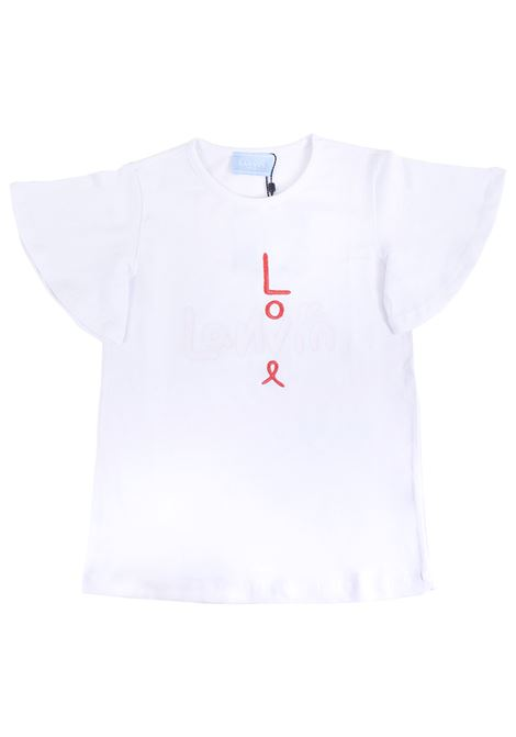 Girl print t-shirt LANVIN KIDS | T-shirt | 4K8531 KA060100RS
