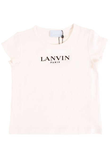 Girl print t-shirt LANVIN KIDS | T-shirt | 4K8551 KA060100NE