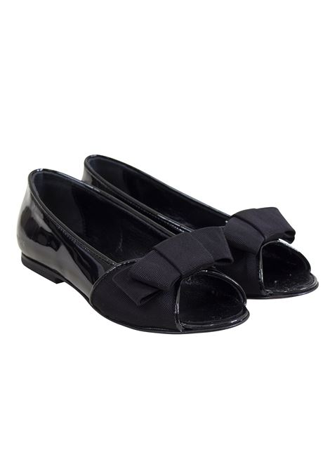 Girl shiny ballet flats LANVIN KIDS | Shoes | 599794