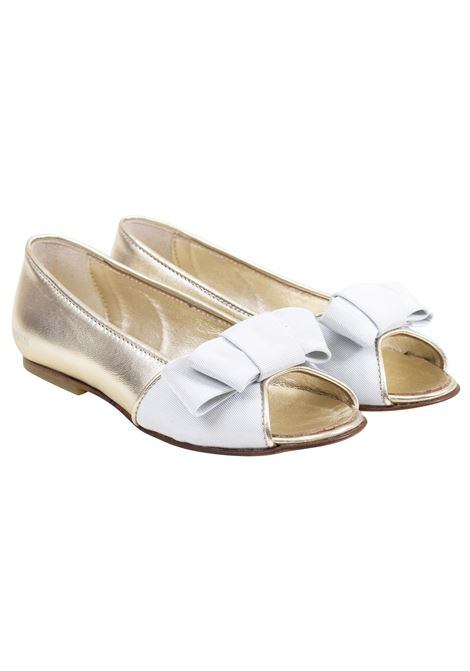 Girl's laminated ballerinas LANVIN KIDS | Shoes | 59979X