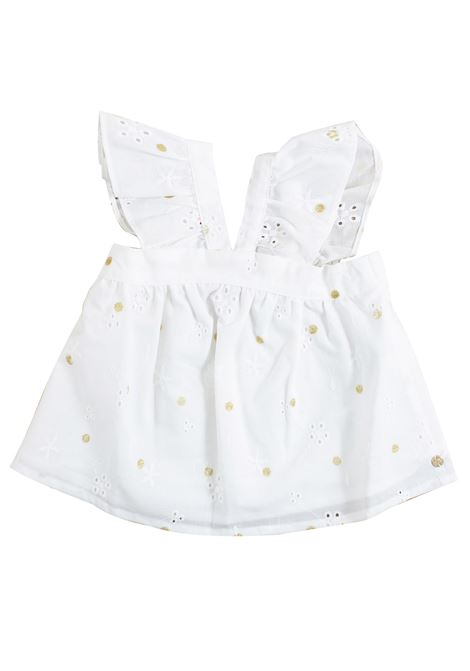 Newborn shirt with embroidery LILI GAUFRETTE KIDS | Shirt | GN1201111