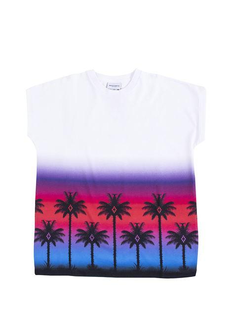 T-shirt bambina con palme MARCELO BURLON KIDS | T-shirt | 10050010B000