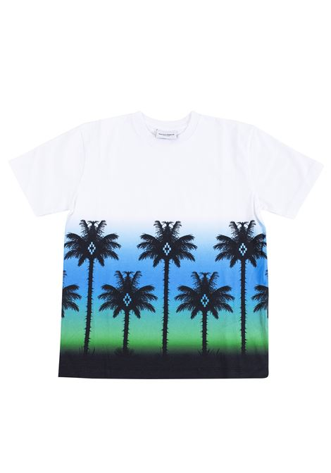 T-shirt bambino stampa palme MARCELO BURLON KIDS | T-shirt | 11130010B000