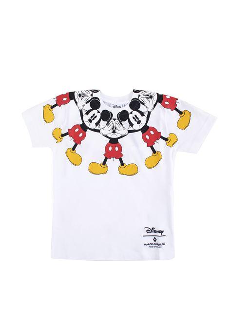 T-shirt bambina con stampa Mickey Mouse MARCELO BURLON KIDS | T-shirt | 11250010B000