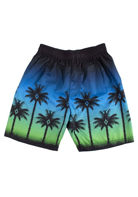 Child's swimsuit printed with palm trees MARCELO BURLON KIDS | Boxer | 80005099B010