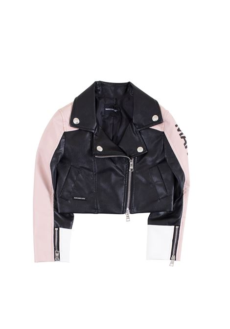 Little girl leather biker jacket MARCO BOLOGNA KIDS | Jacket | O017513
