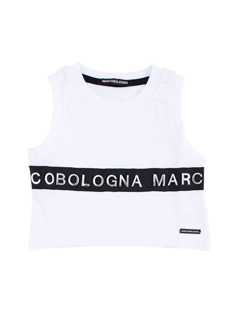 Girl's tank top with logo MARCO BOLOGNA KIDS | Top | T018913