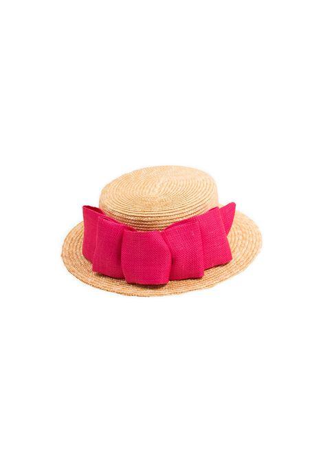 Cappello bambina con fiocco MIMISOL | Cappelli | 19E MA101ST 0059R105