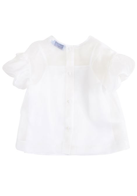 Girl shirt with puff sleeves MIMISOL   19E MF602ST 3101B003
