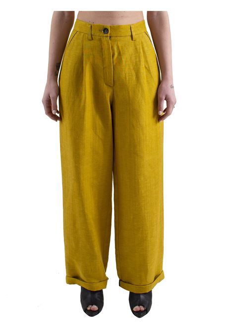 Women's high waist trousers MOMONì | Trousers | MYKONOS M0PA0230731