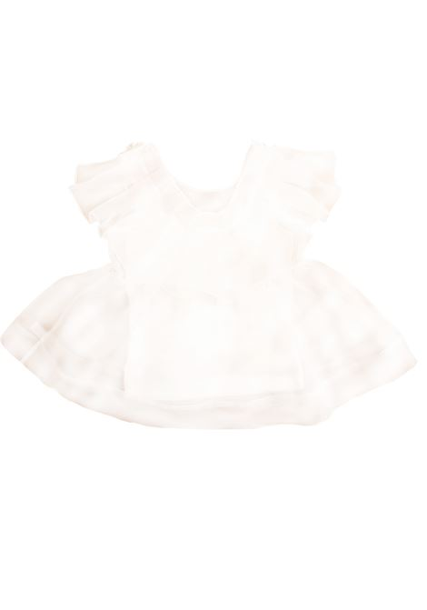 Little girl shirt with ruffles PAOLA MONTAGUTI | Shirt | E19C502 010601