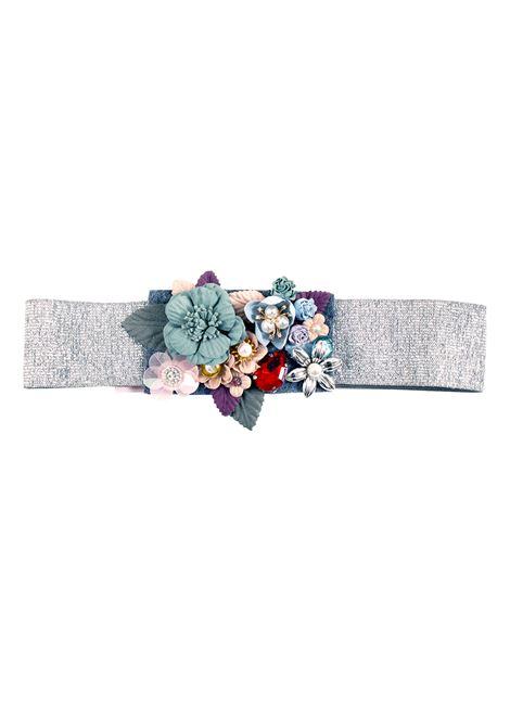 Cintura bambina glitter PAOLA MONTAGUTI | Cinture | E19C904 001590