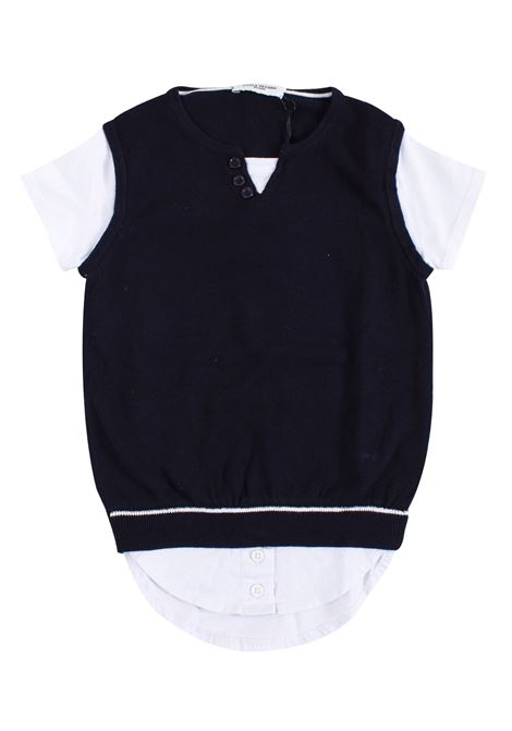 T-shirt with baby vest PAOLO PECORA KIDS | T-shirt | PP167305
