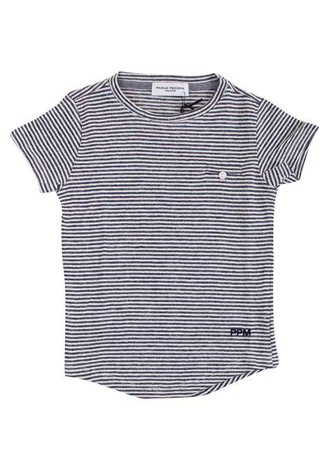 Striped baby t-shirt PAOLO PECORA KIDS | T-shirt | PP174004