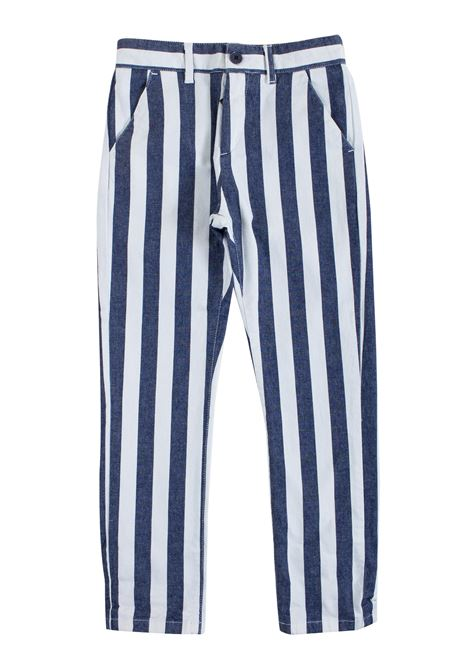 Striped baby pants PAOLO PECORA KIDS | Trousers | PP182711