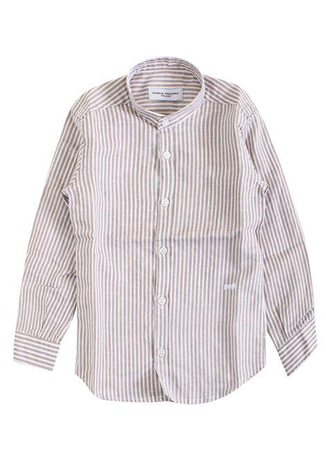 Striped child shirt PAOLO PECORA KIDS | Shirt | PP183506
