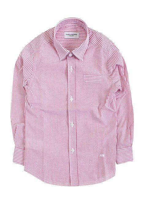 Striped child shirt PAOLO PECORA KIDS | Shirt | PP183707