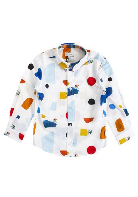 Camicia bambino stampata PAUL SMITH JUNIOR | Camicie | 5N1260201