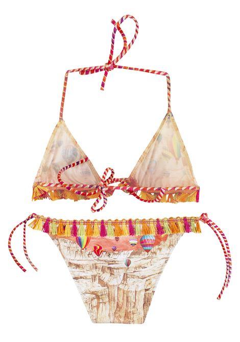 Bikini bambina con nappine PIN-UP STARS KIDS | 19B701F090