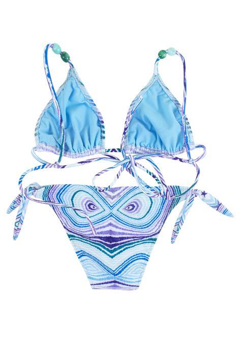Bikini bambina a fantasia con perline PIN-UP STARS KIDS | 19B706F097