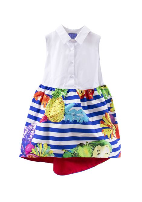 Girl striped dress with fruits STELLA JEAN KIDS | Dress | AB4203580745