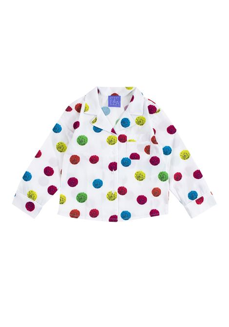 Polka dot printed cotton shirt STELLA JEAN KIDS | Shirt | CA0403640101