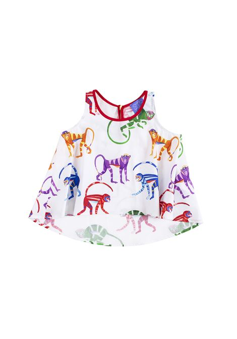 Top little girl with monkeys STELLA JEAN KIDS | Top | CA4003590101