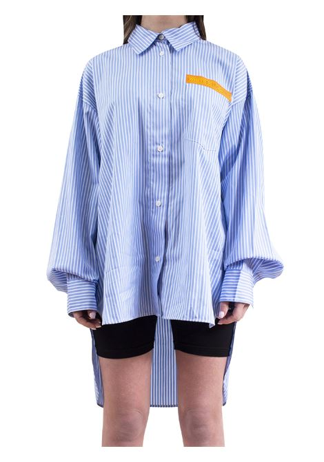 Women's striped shirt WHITE | Shirt | 168WCO15