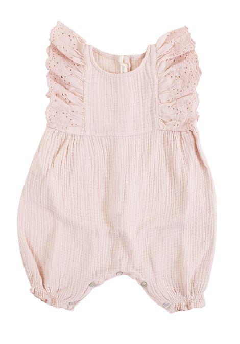 Newborn bodysuit with embroidery ZHOE & TOBIAH KIDS | Newborn jumpsuits | DC597