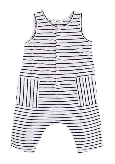 Striped newborn bodysuit ZHOE & TOBIAH KIDS | Newborn jumpsuits | SJE811