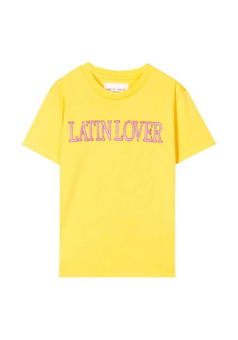 YELLOW T-SHIRT ALBERTA FERRETTI KIDS ALBERTA FERRETTI JUNIOR | T-shirt | 022146020