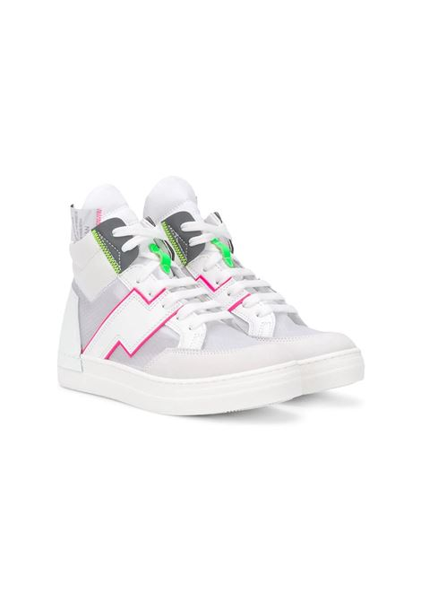 PANNELLED HIGH-TOP SNEAKERS CINZIA ARAIA KIDS | Sneakers | AK1728T01