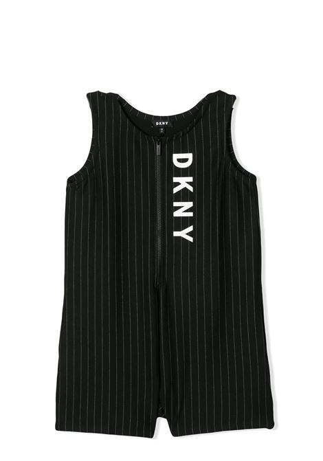 PINSTRIPE JUMPSUIT DKNY KIDS | Suits | D3498309B