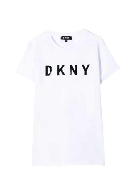 DKNY KIDS T-SHIRT CON STAMPA DKNY KIDS   T-shirt   D35Q47T10B