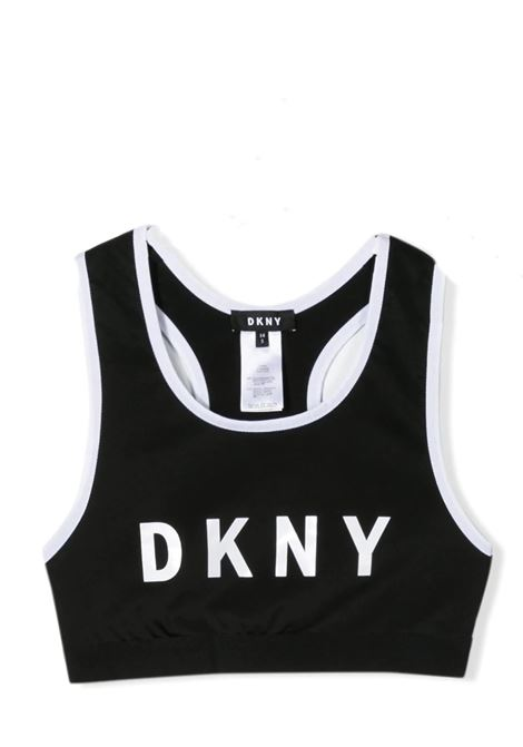 RACER-BAC BRA TOP DKNY KIDS | T-shirt | D35Q5509B