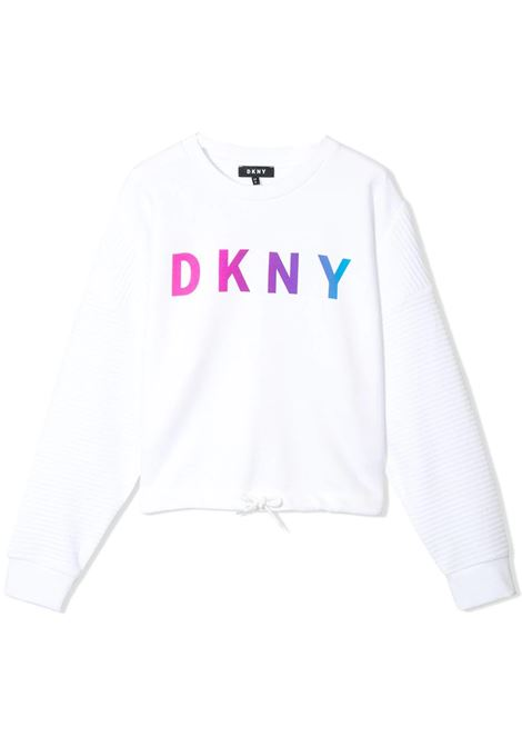 BRANDED SWEATSHIRT DKNY KIDS |  | D35Q5910B