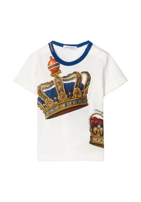 DOLCE & GABBANA KIDS T-SHIRT DOLCE & GABBANA KIDS | T-shirt | L1JT6S-G7VJRHW1FL