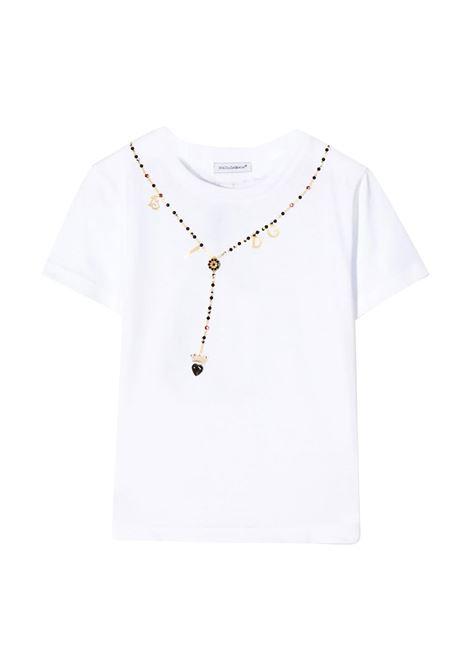 DOLCE & GABBANA T-SHIRT  DOLCE & GABBANA KIDS | T-shirt | L5JTBO-G7VWFW0800