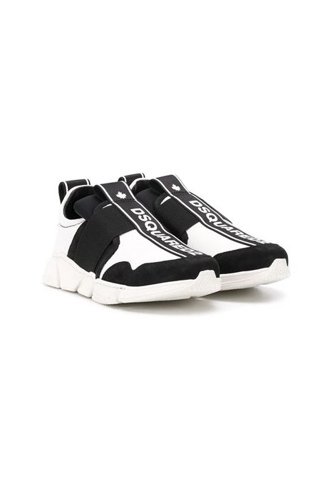 SNEAKERS SENZA LACCI DSQUARED2 JUNIOR | Sneakers | 635205