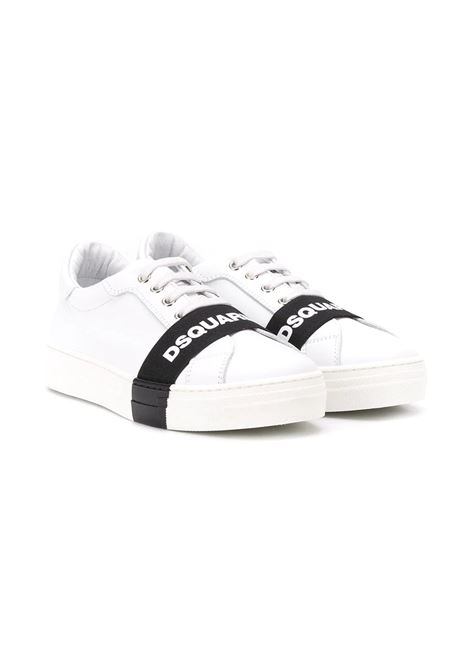 LOGO STRIPE SNEAKERS DSQUARED2 JUNIOR | Sneakers | 635242