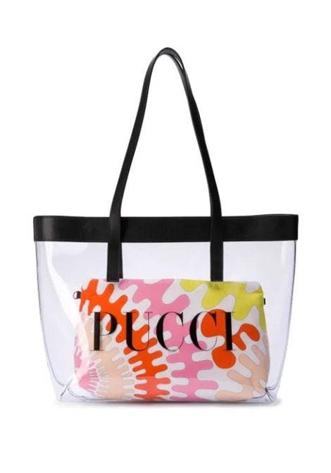 CLEAR LOGO PRINTED SHOULDER BAG EMILIO PUCCI   Bags   9M0178-MX430001NE