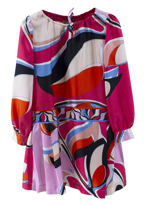 DRESS IN SILK GIRL EMILIO PUCCI EMILIO PUCCI | Dress | 9M1000-MD780415CE