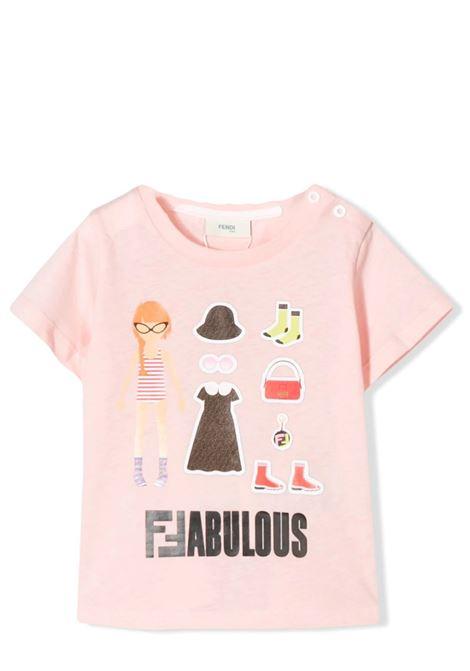 FENDI KIDS  FENDI KIDS   T-shirt   BFI115 7AJF16WG