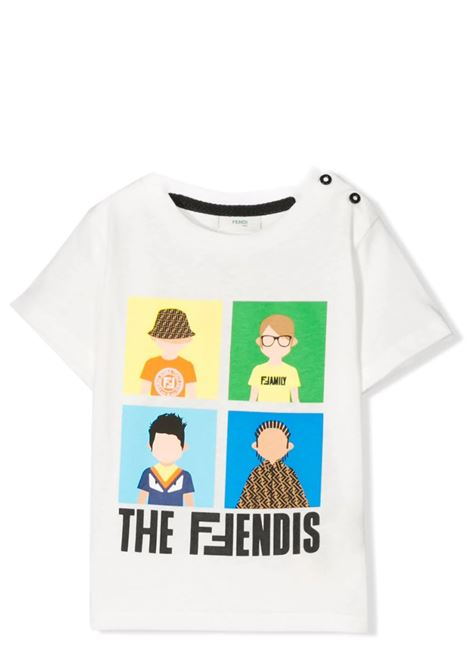 FENDI KIDS FENDI KIDS | T-shirt | BMI201 7AJF0TU9