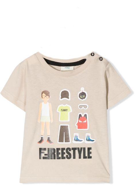 FENDI KIDS FENDI KIDS | T-shirt | BMI2016 7AJF09TD