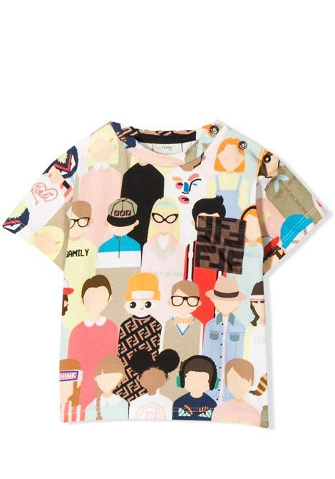 FENDI KIDS  FENDI KIDS   T-shirt   BMI202 AAD3F0WB1