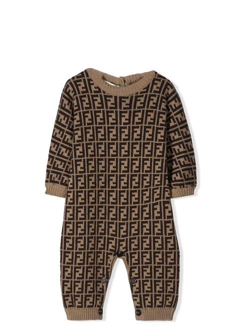 FENDI KIDS  FENDI KIDS   Newborn jumpsuits   BUL035 A3TEF0LMJ