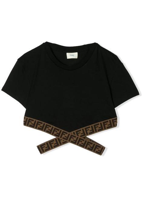 FENDI KIDS FENDI KIDS   T-shirt   JFI194 7AJF0QA1