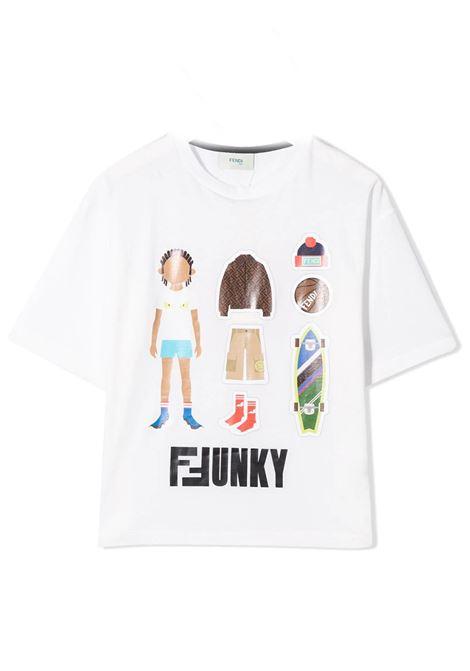 FENDI KIDS  FENDI KIDS | T-shirt | JMI318 7AJF0TU9